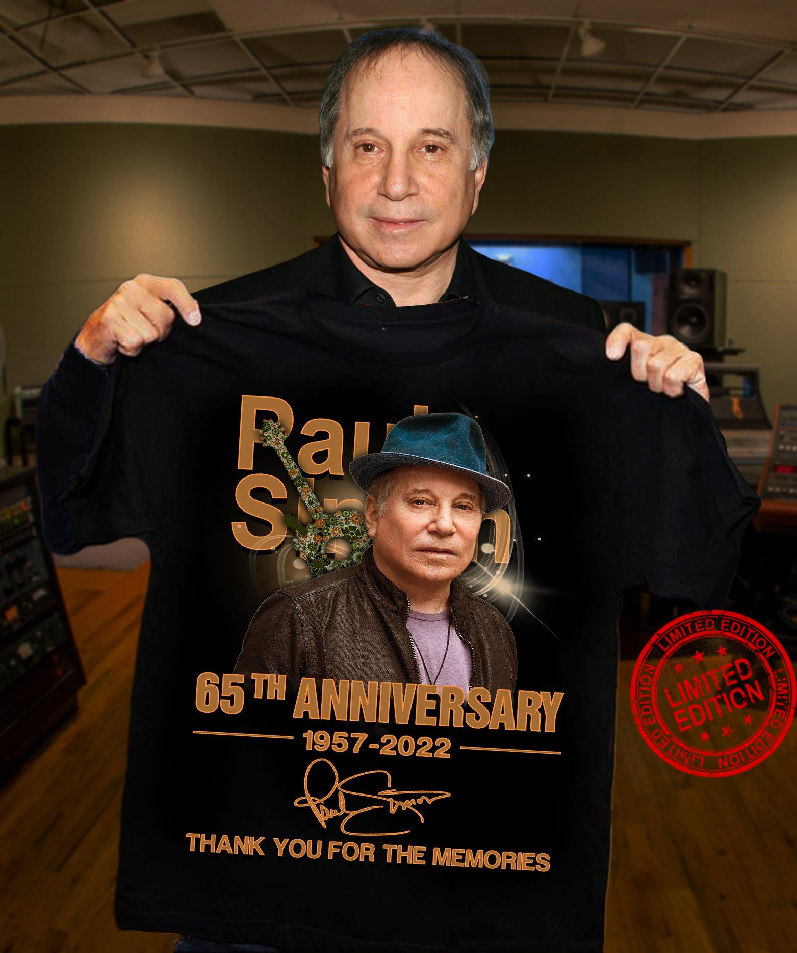 65th Anniversary 1957 2022 Thank You For The Memories Shirt