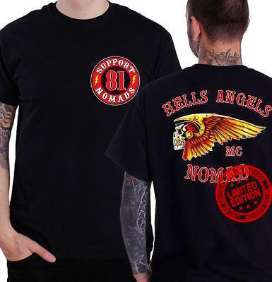 Hells Angels Mc Nomad Shirt