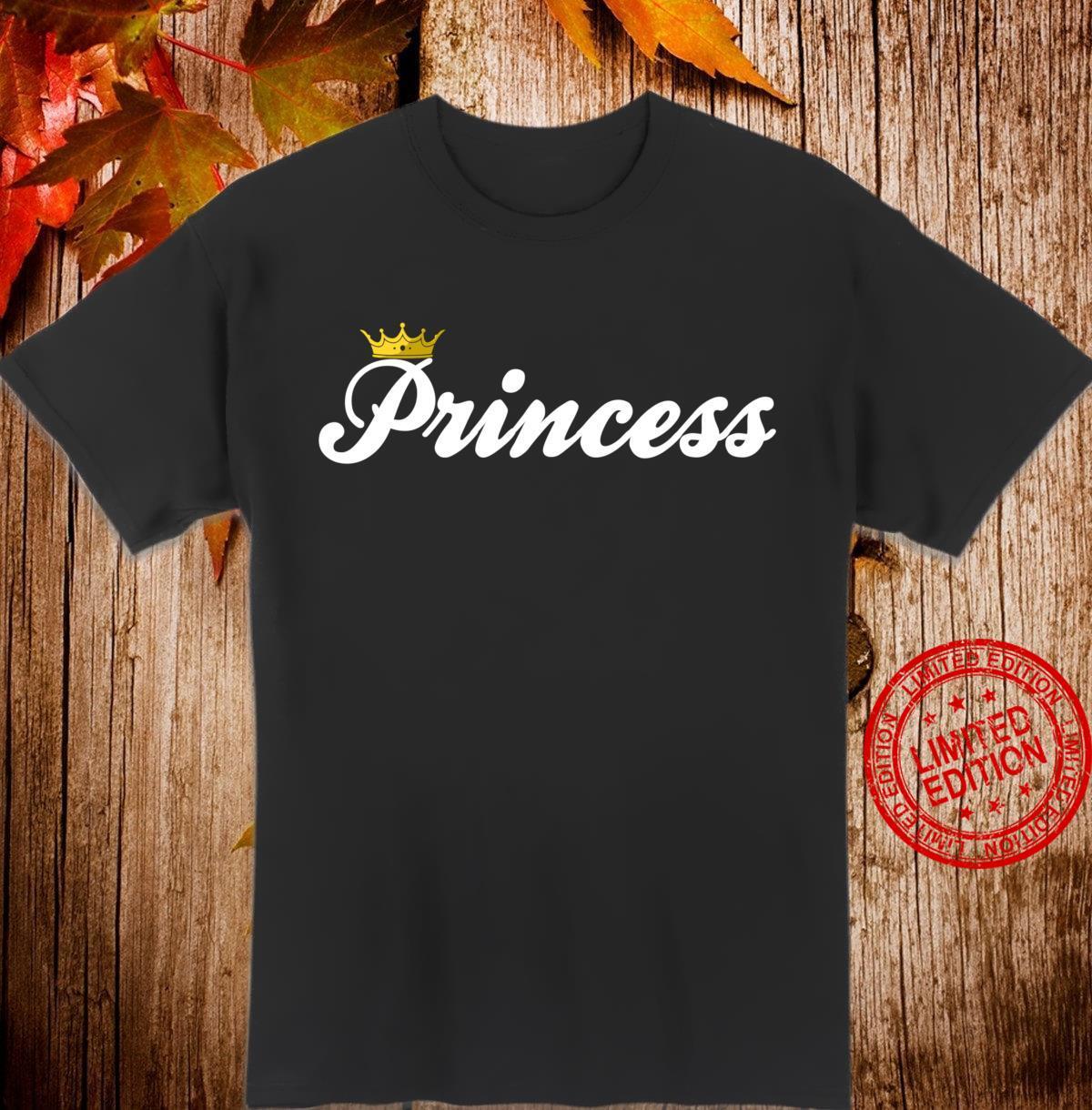 Princess with Crown Princess Shirt