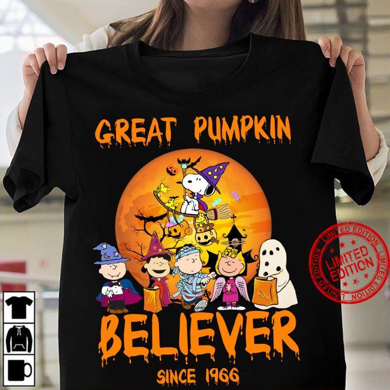 The Peanuts Great Pumpkin Believer Since 19466 Shirt