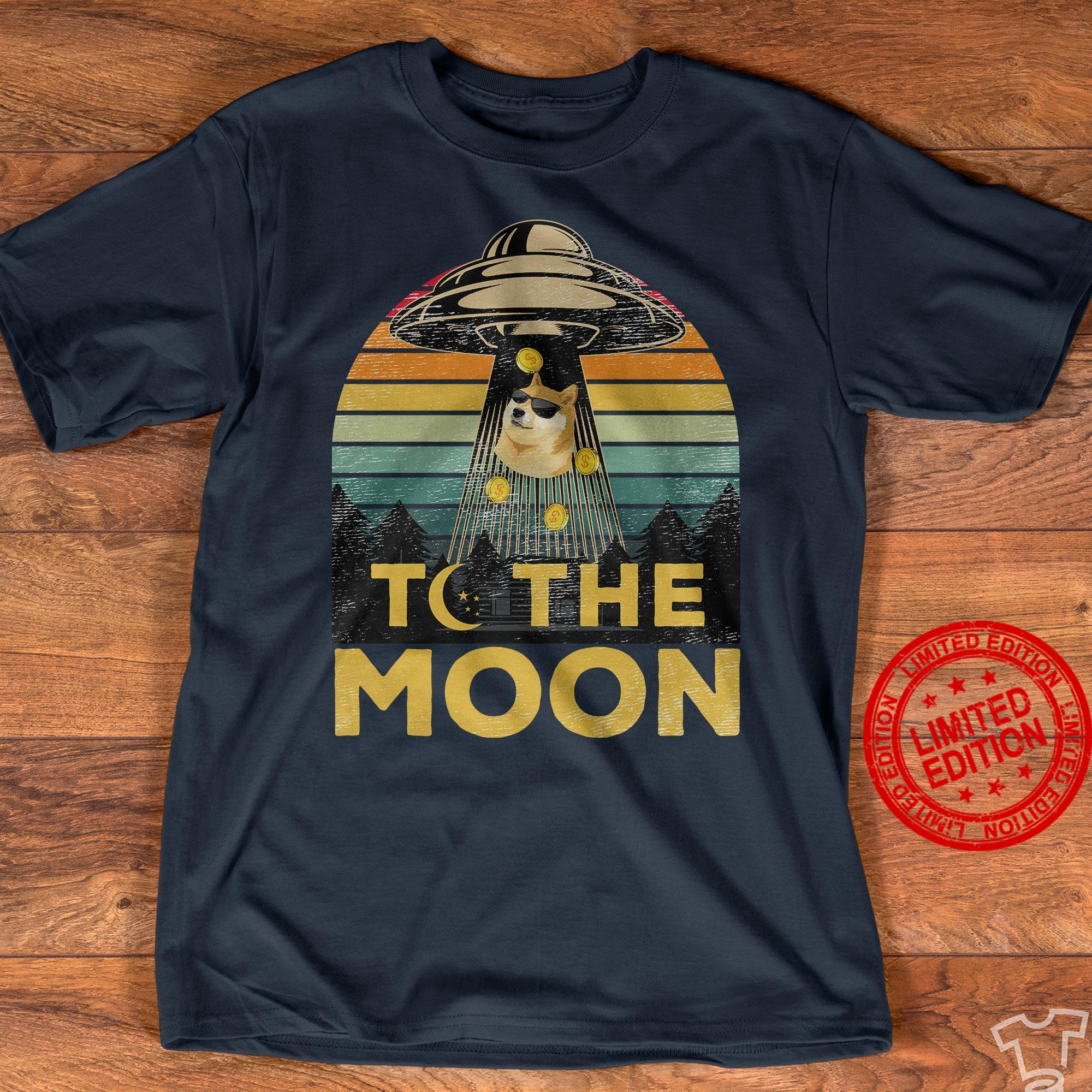 To The Moon Shirt