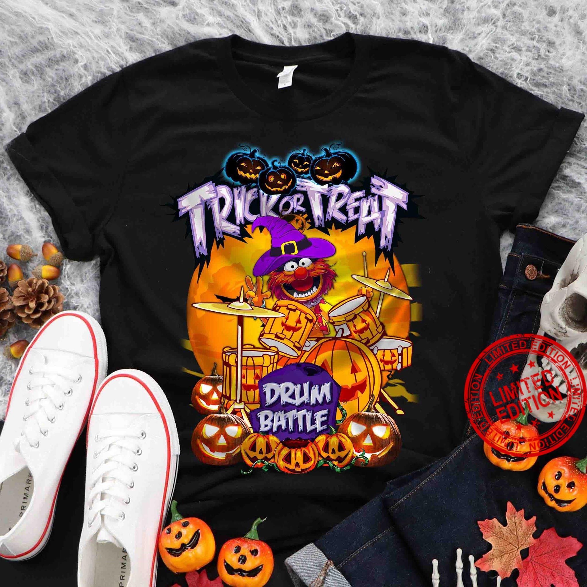 Trick Or Treat Drum Battle Shirt