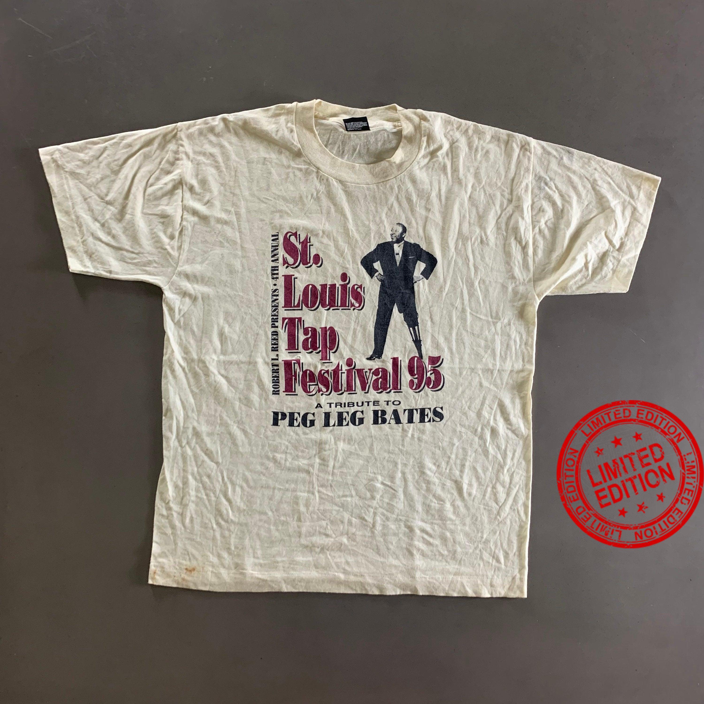Vintage 1995 St.Louis Tap Festival 95 Shirt