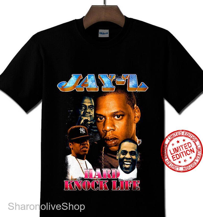 Vintage Jay-Z Black King J Hip hop shirt