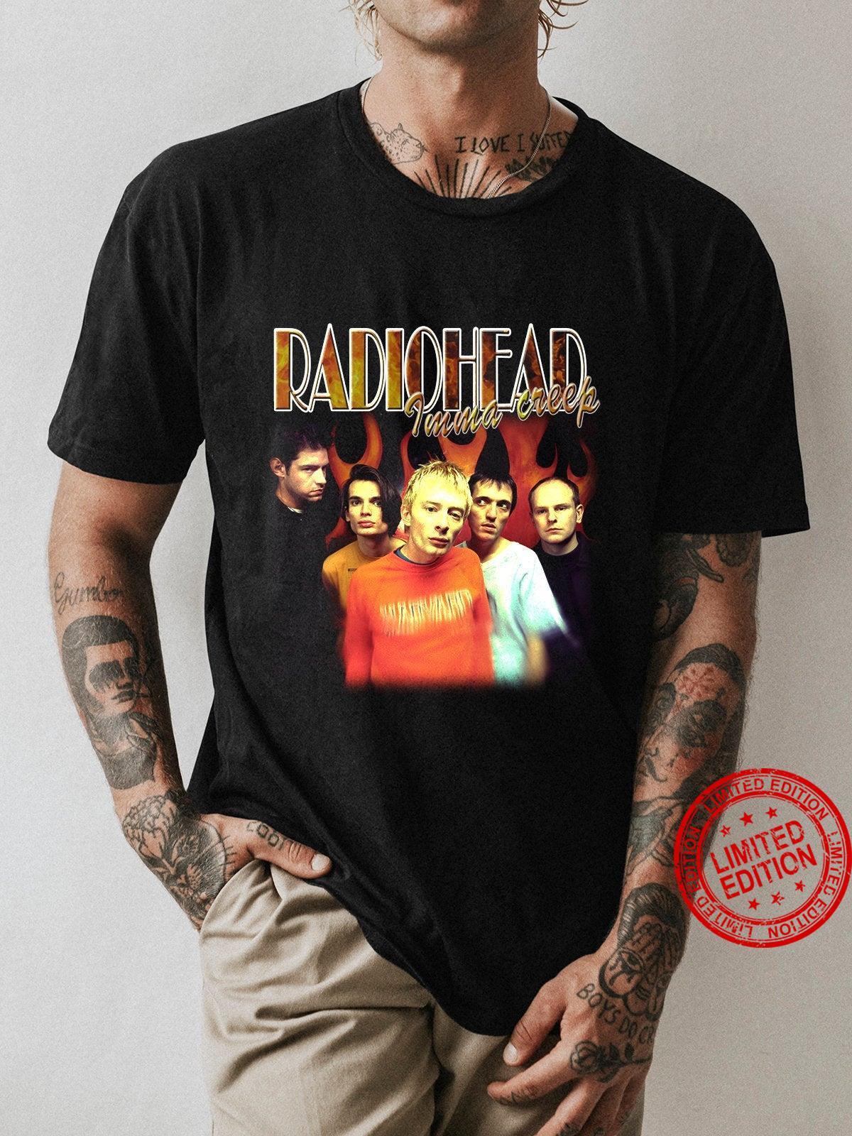 Vintage Radiohead Shirt