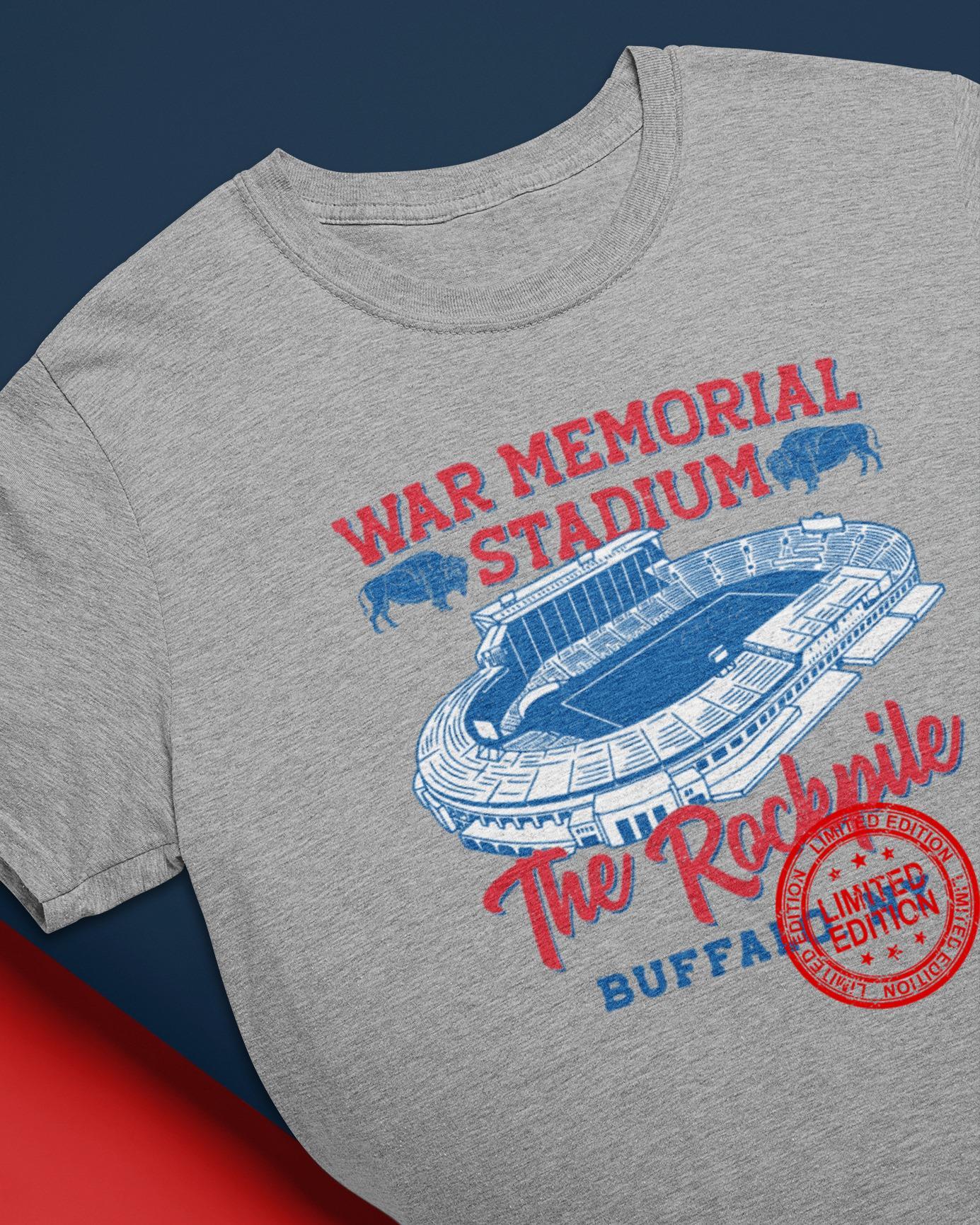 War Memorial Stadium The Rockpile Buffalo Ny Shirt