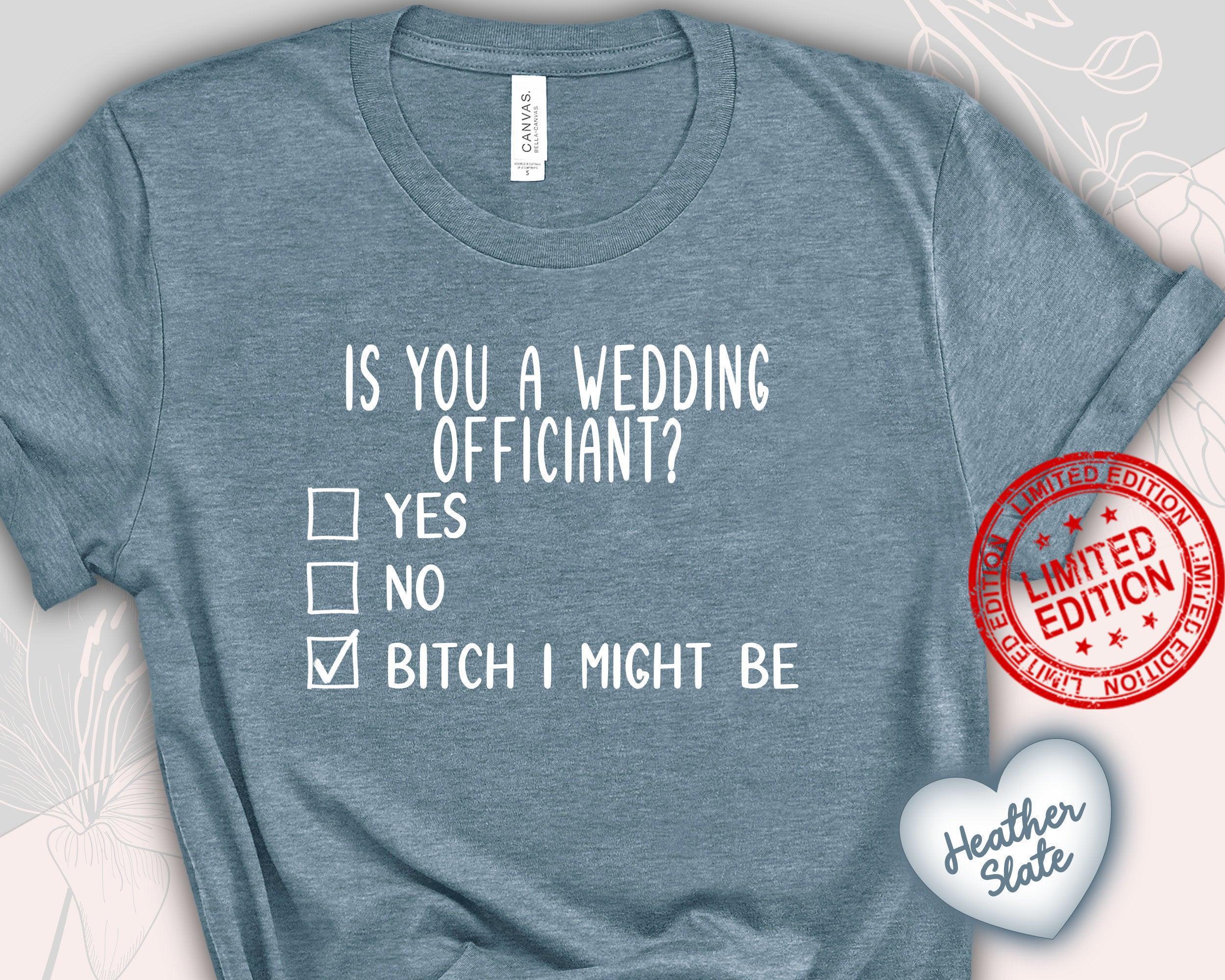 Wedding OfficiantShirt