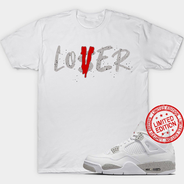 White Oreo 4 Retro Loser Shirt
