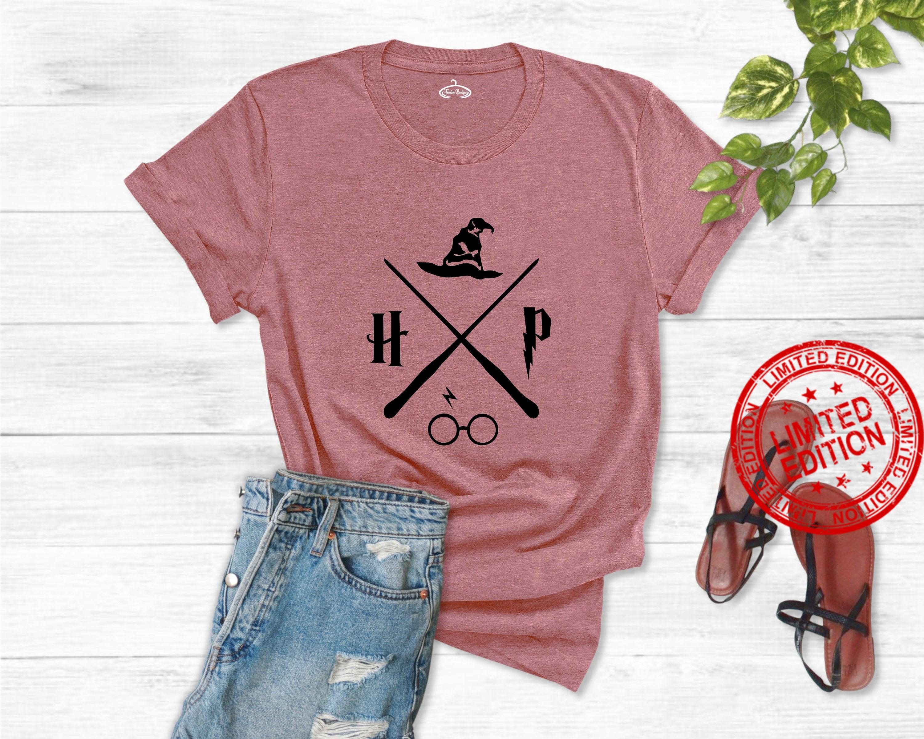 Wizard Hat And Wand Shirt