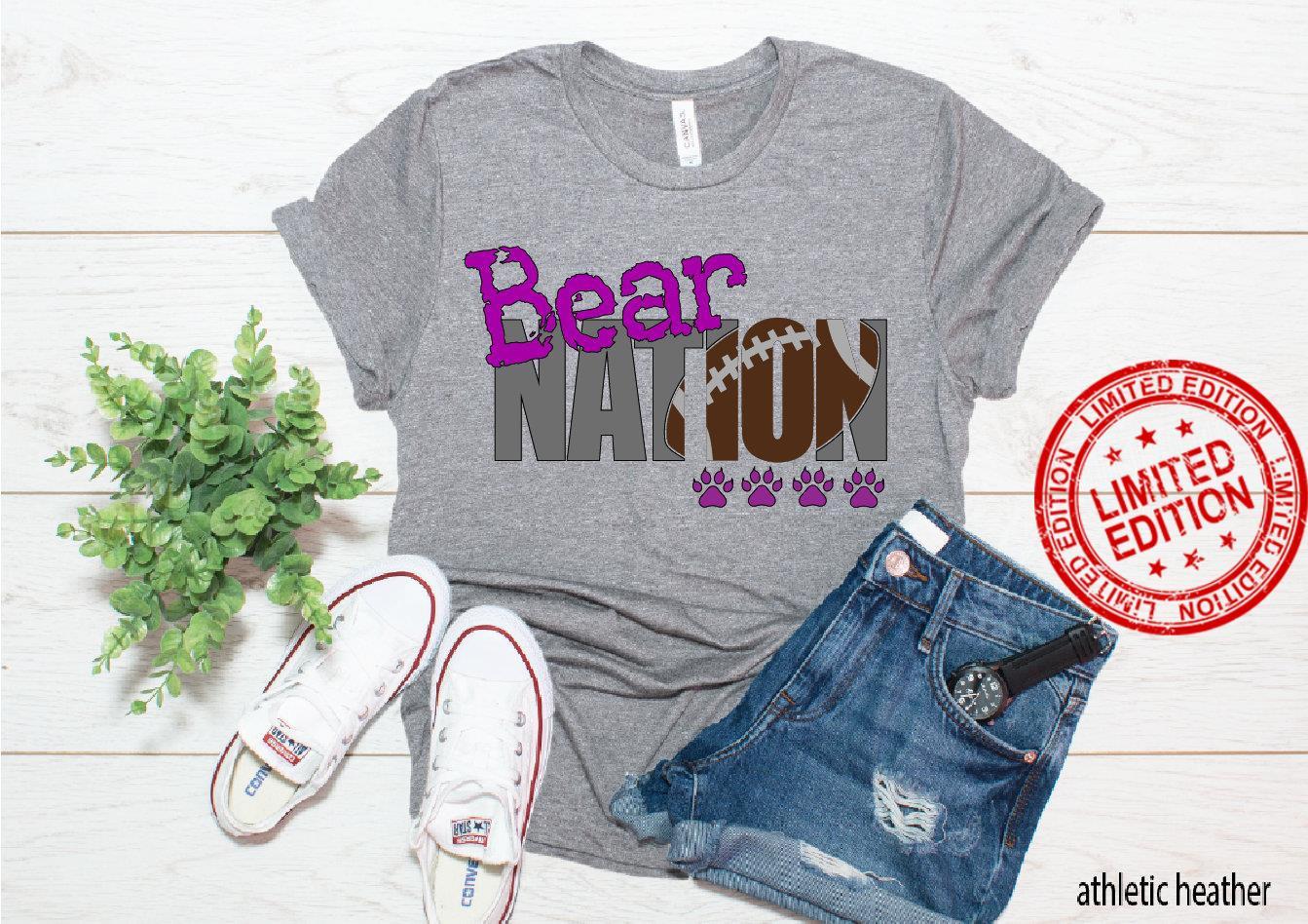 YOUR TEAM football nation custom shirt