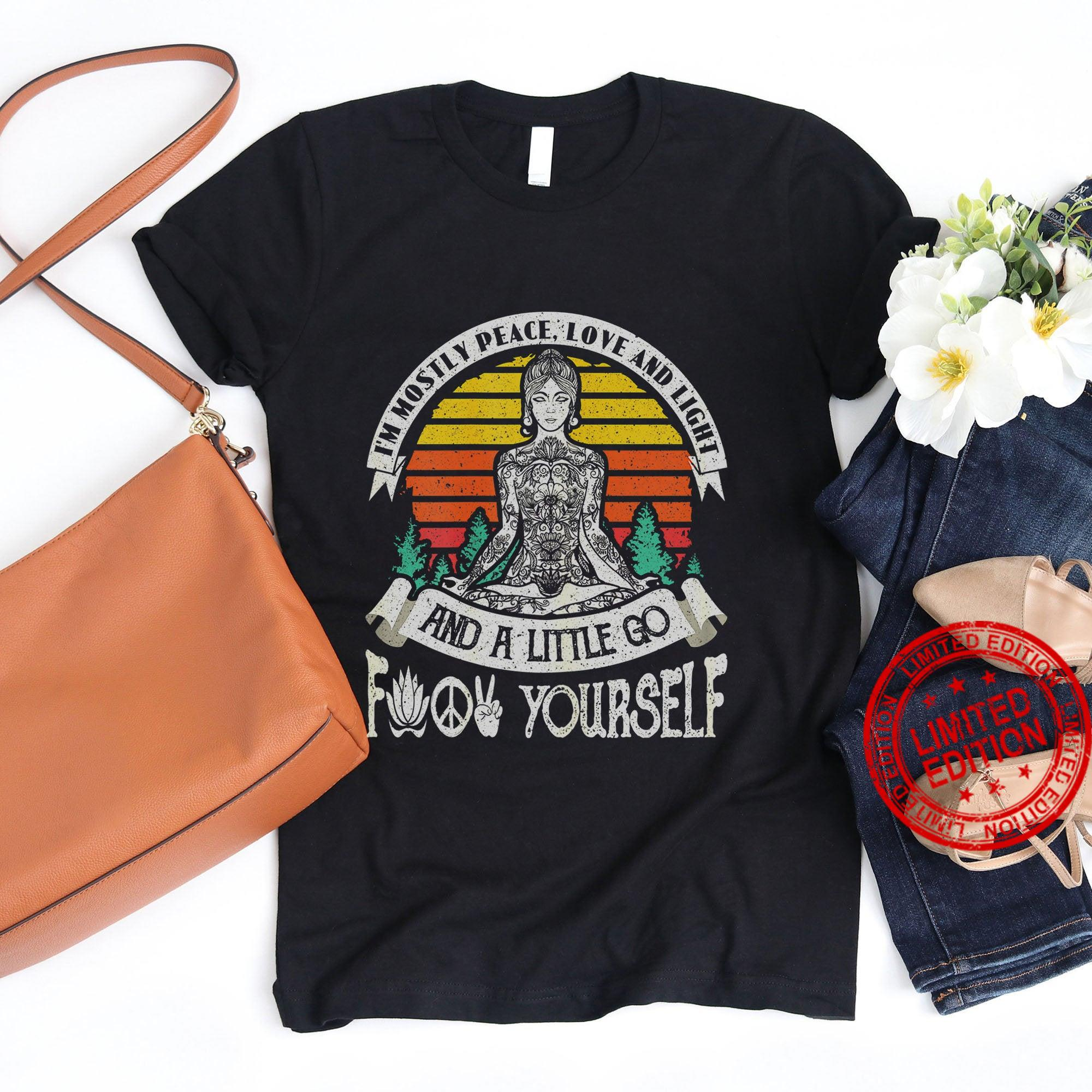 Yoga Just Breathe Plan For The Day Shirt