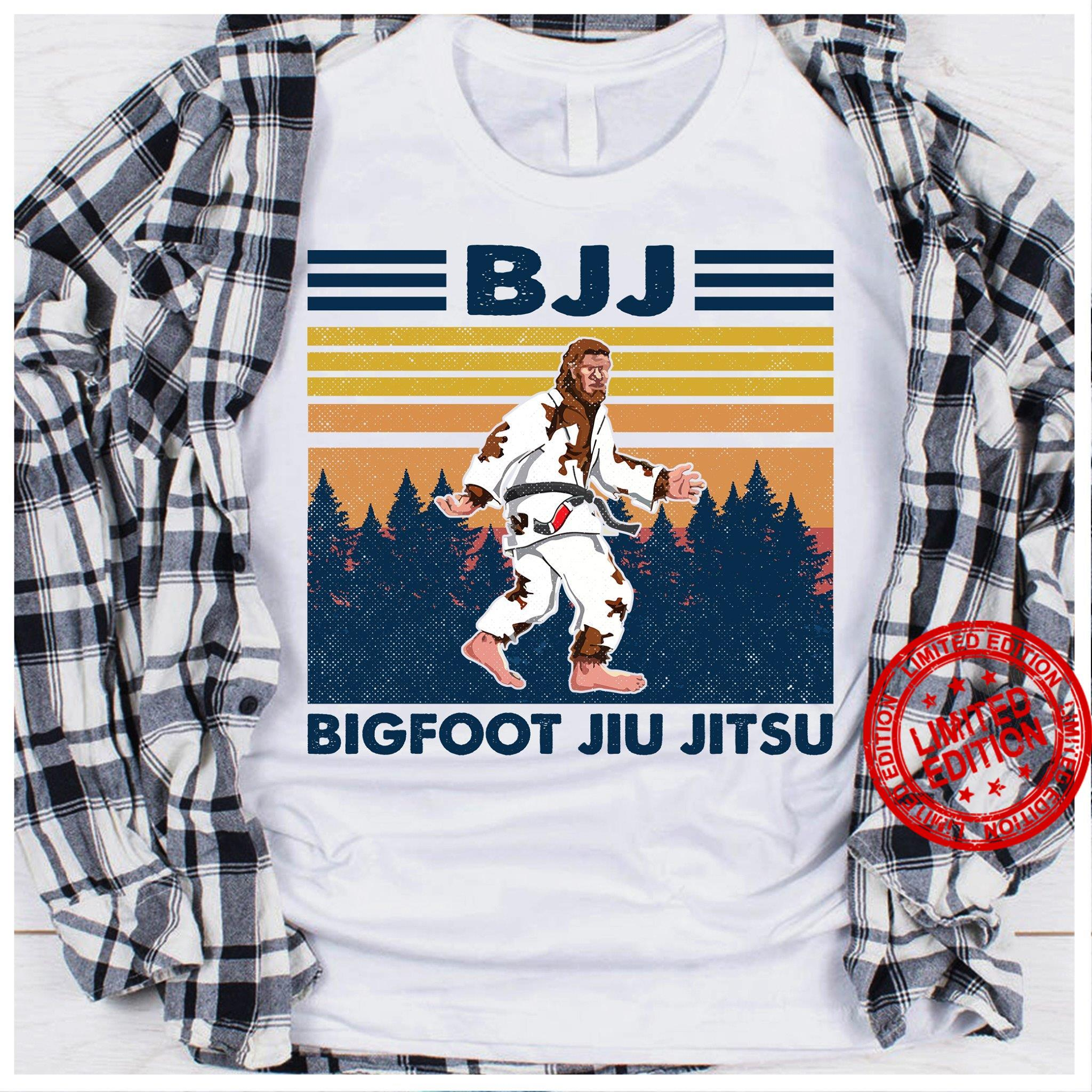 Bjj Bigfoot Jiu Jitsu Shirt