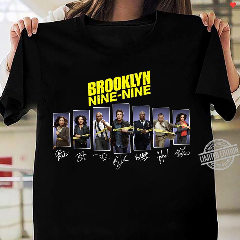 Brookyn Nine- Nine Signatures Shirt