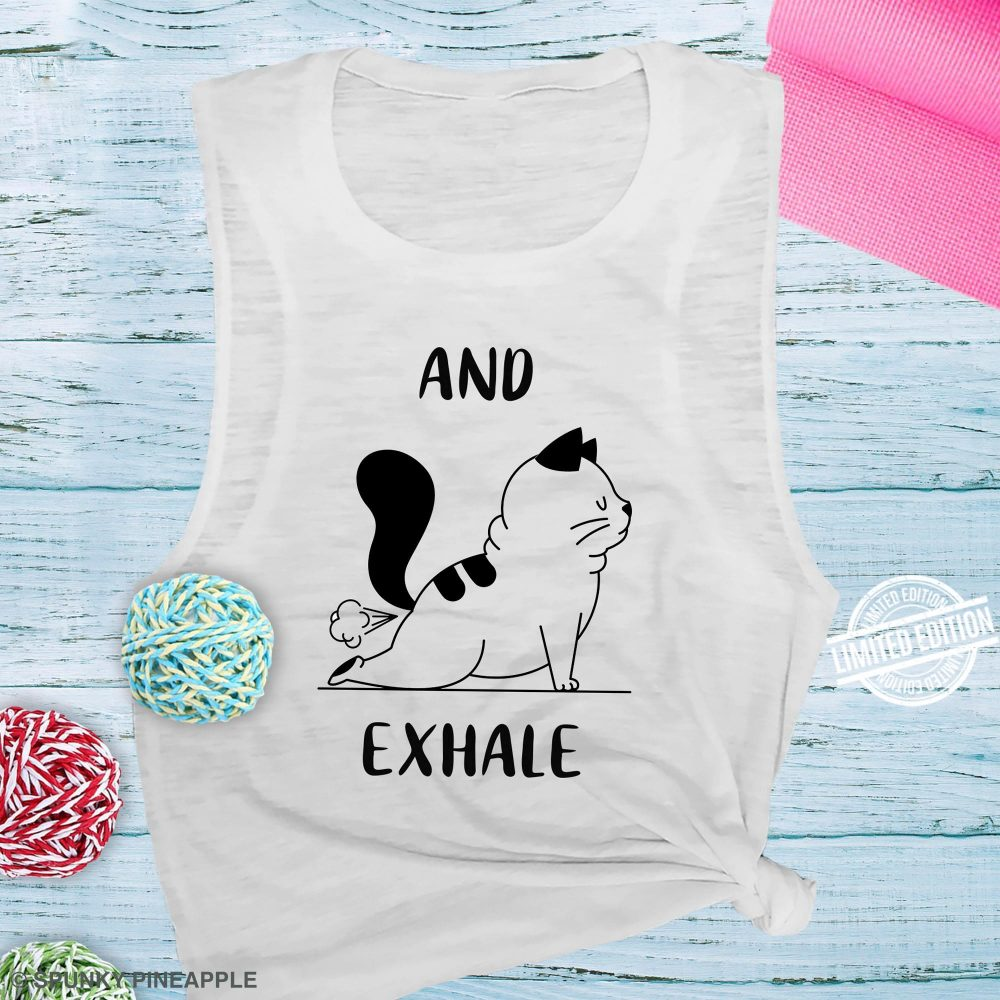 Cat and Exhale Shirt
