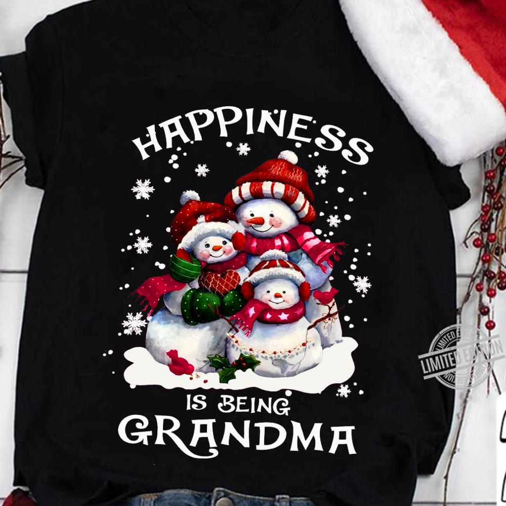 Happiness Is Being Grandma Shirt