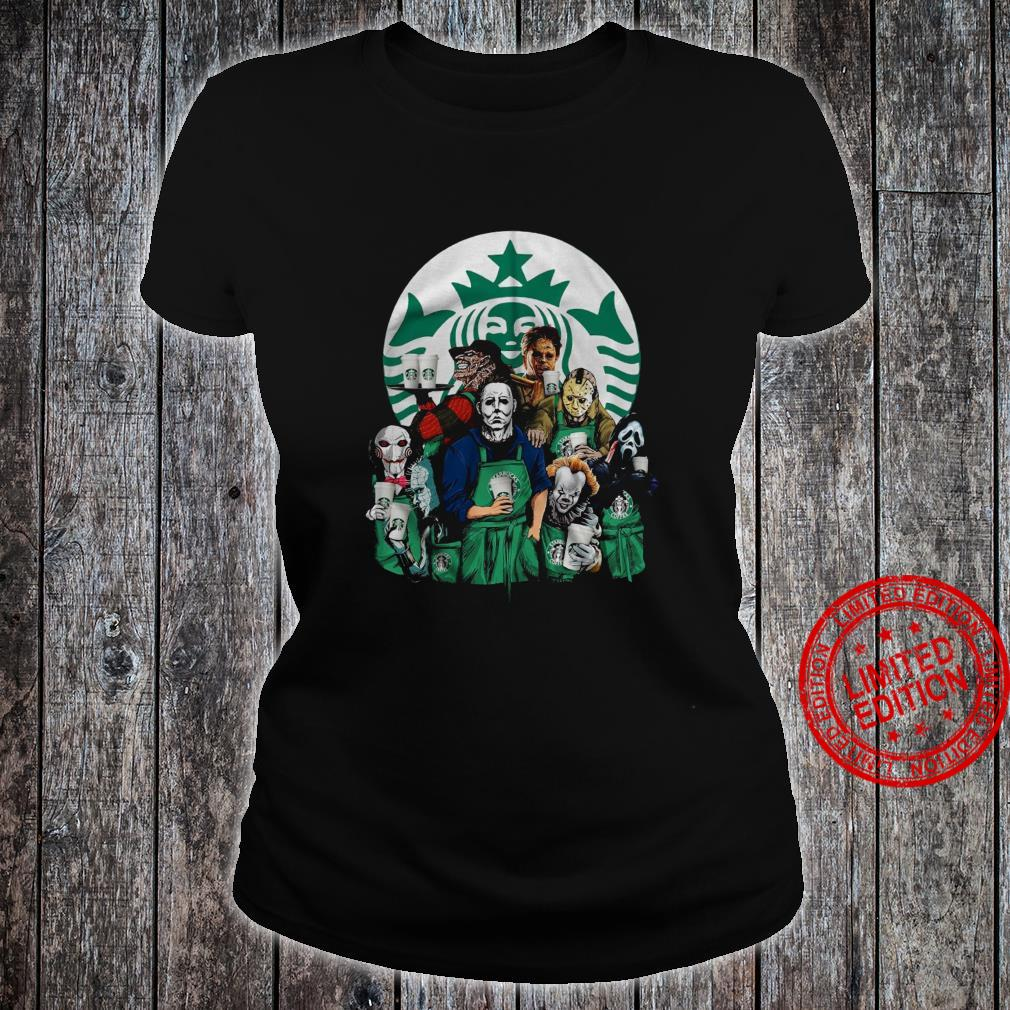 Horror Movies Starbuck Shirt ladies tee
