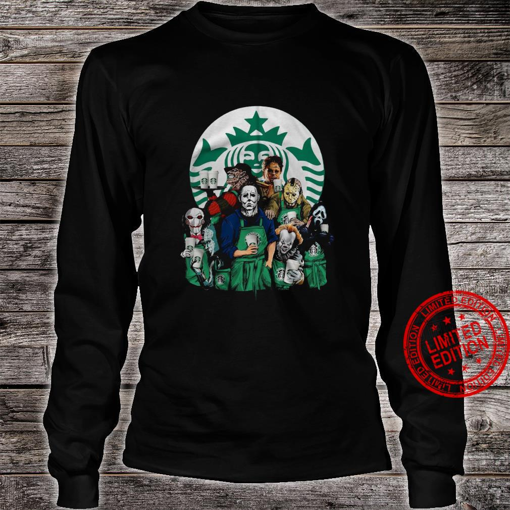 Horror Movies Starbuck Shirt long sleeved