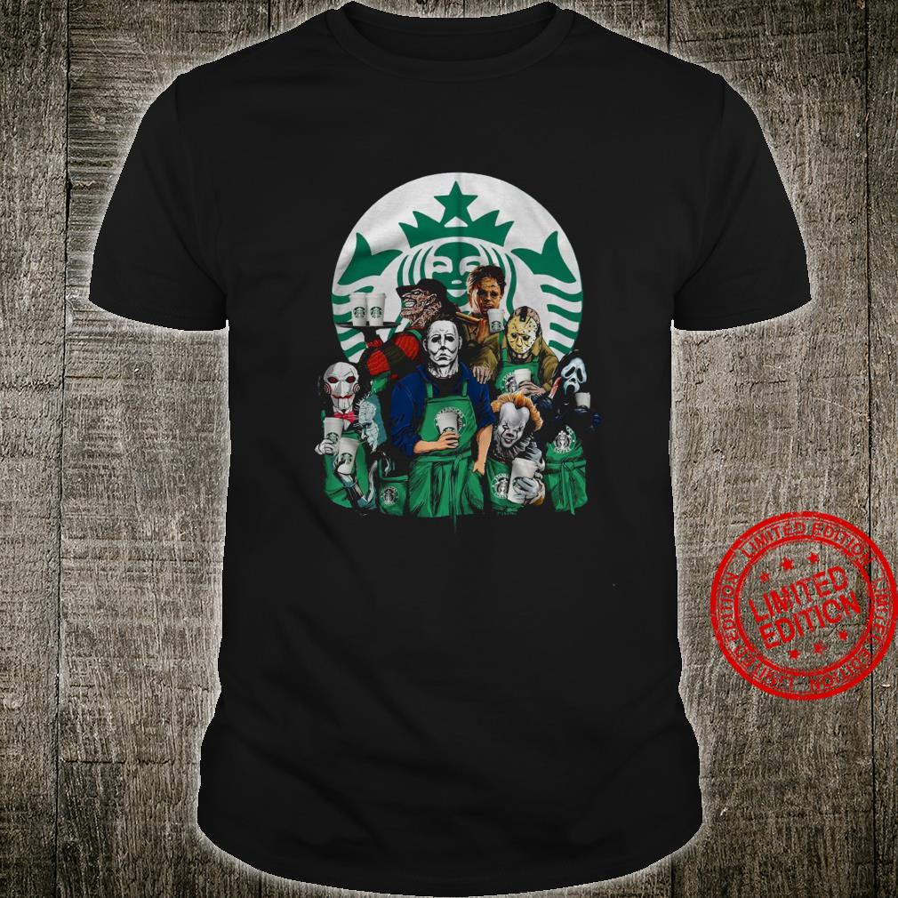 Horror Movies Starbuck Shirt unisex
