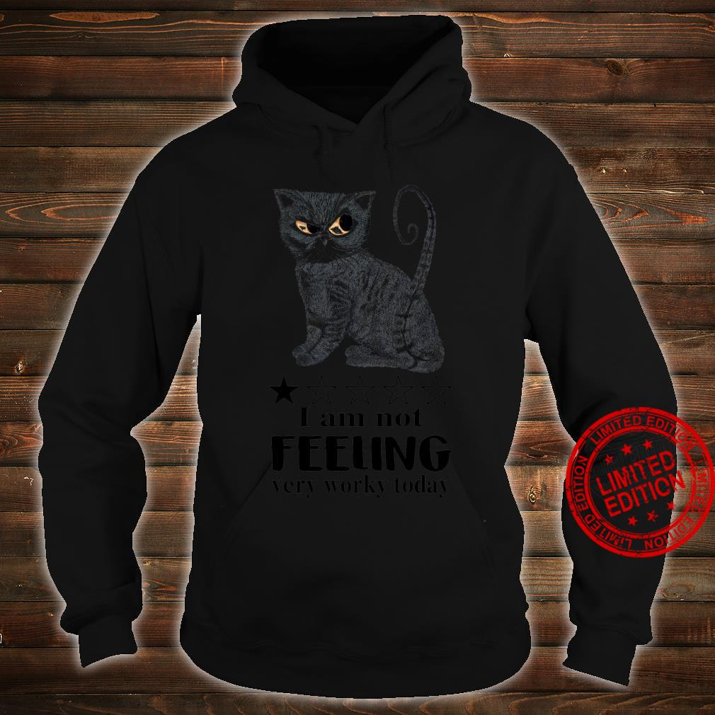 I Am Not Feeling Very Worky Today Shirt hoodie