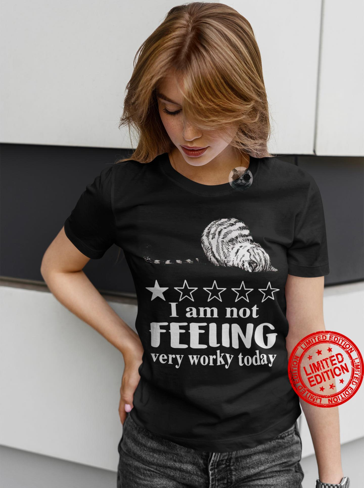 I Am Not Feeling very Worky Today Shirt