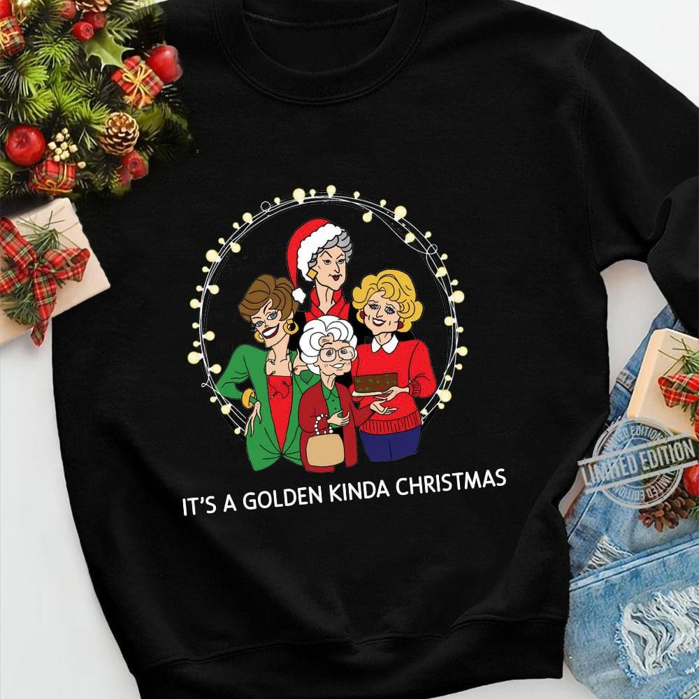 It's A Golden Kinda Christmas Shirt