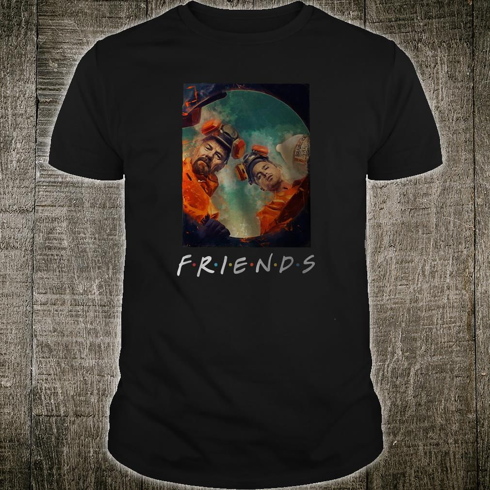 Rick and Morty friends shirt