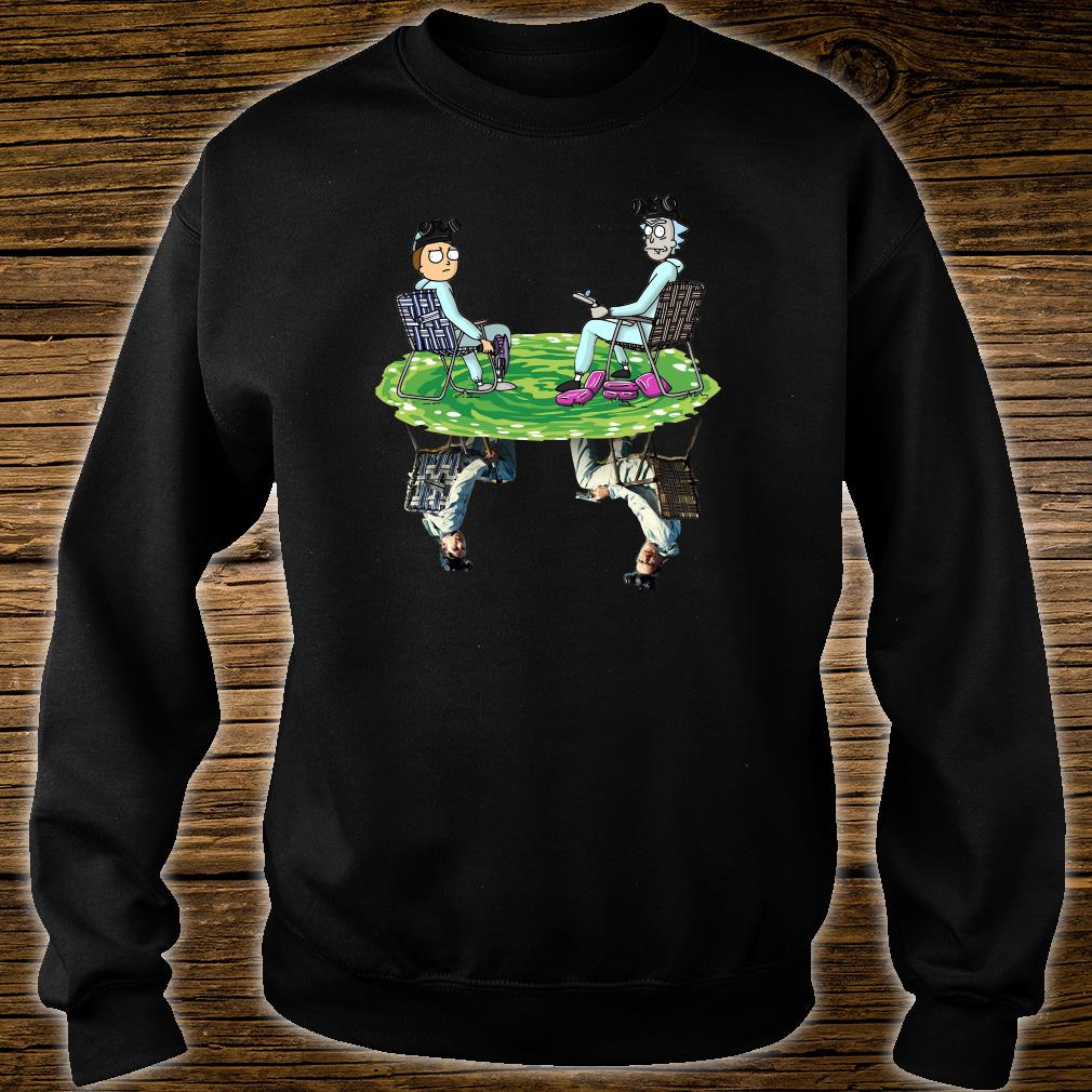 Rick and Morty shirt sweater