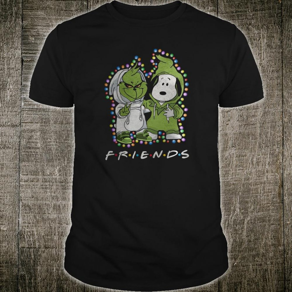 Snoopy and Grinch friends shirt