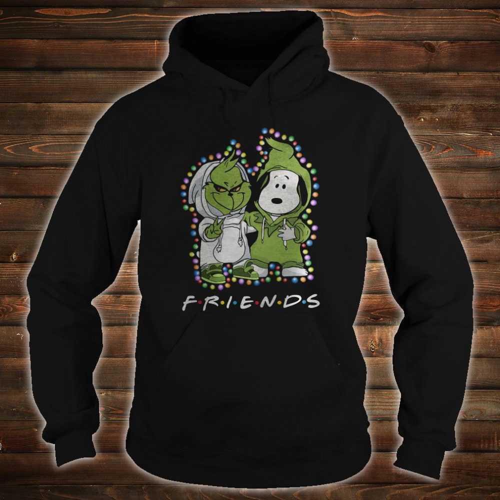 Snoopy and Grinch friends shirt hoodie
