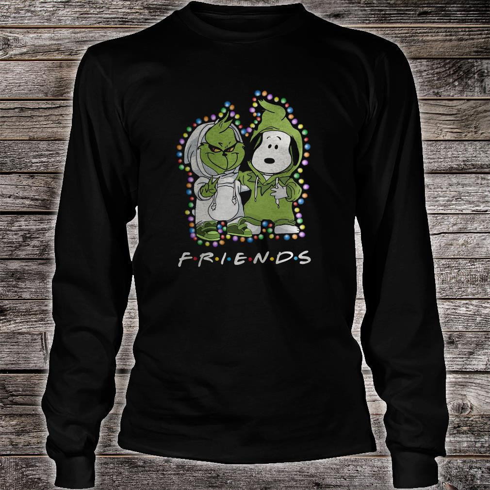 Snoopy and Grinch friends shirt long sleeved