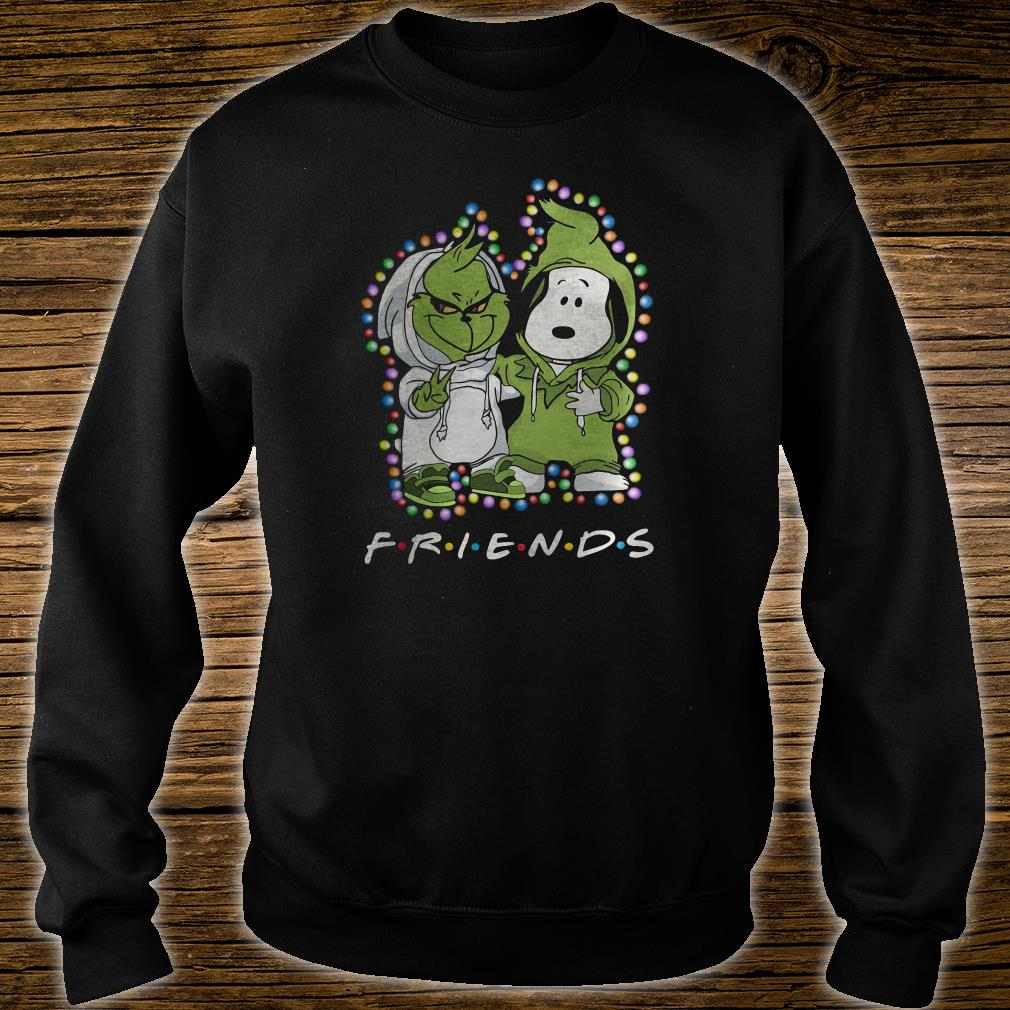Snoopy and Grinch friends shirt sweater