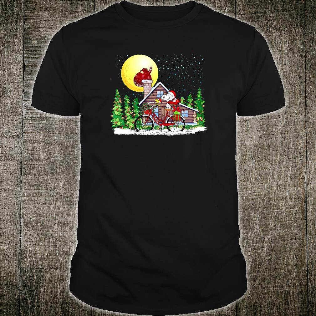 Snoopy and Woodstock christmas shirt