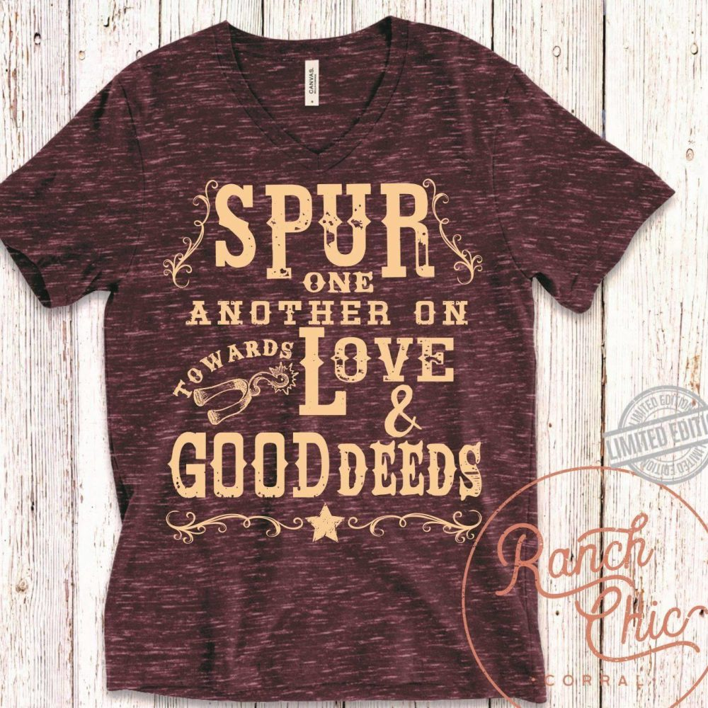 Spur One Anther On Love Good Deers Shirt