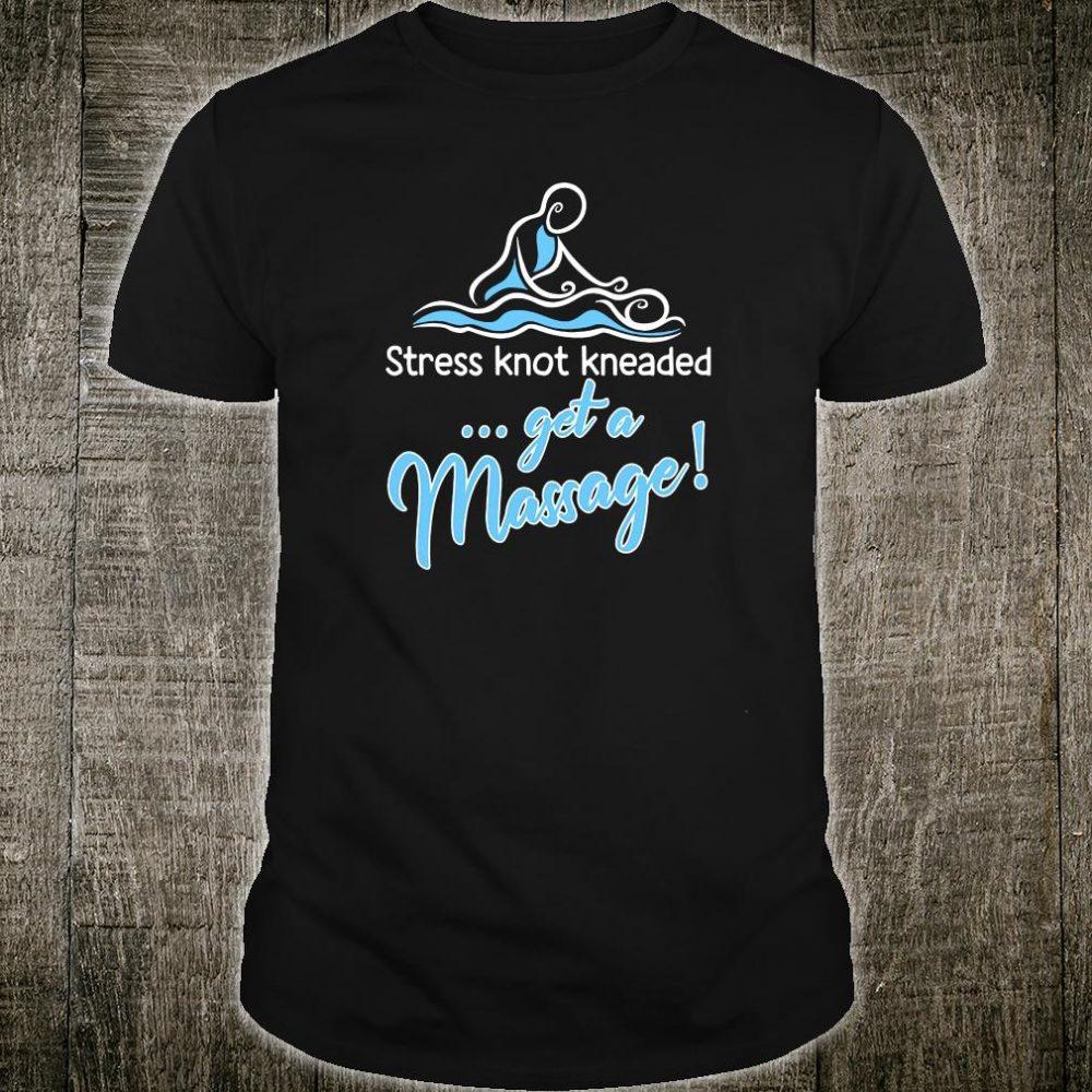 Stress knot kneaded get a massage shirt