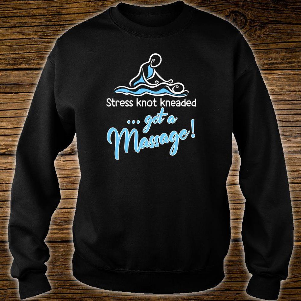 Stress knot kneaded get a massage shirt sweater