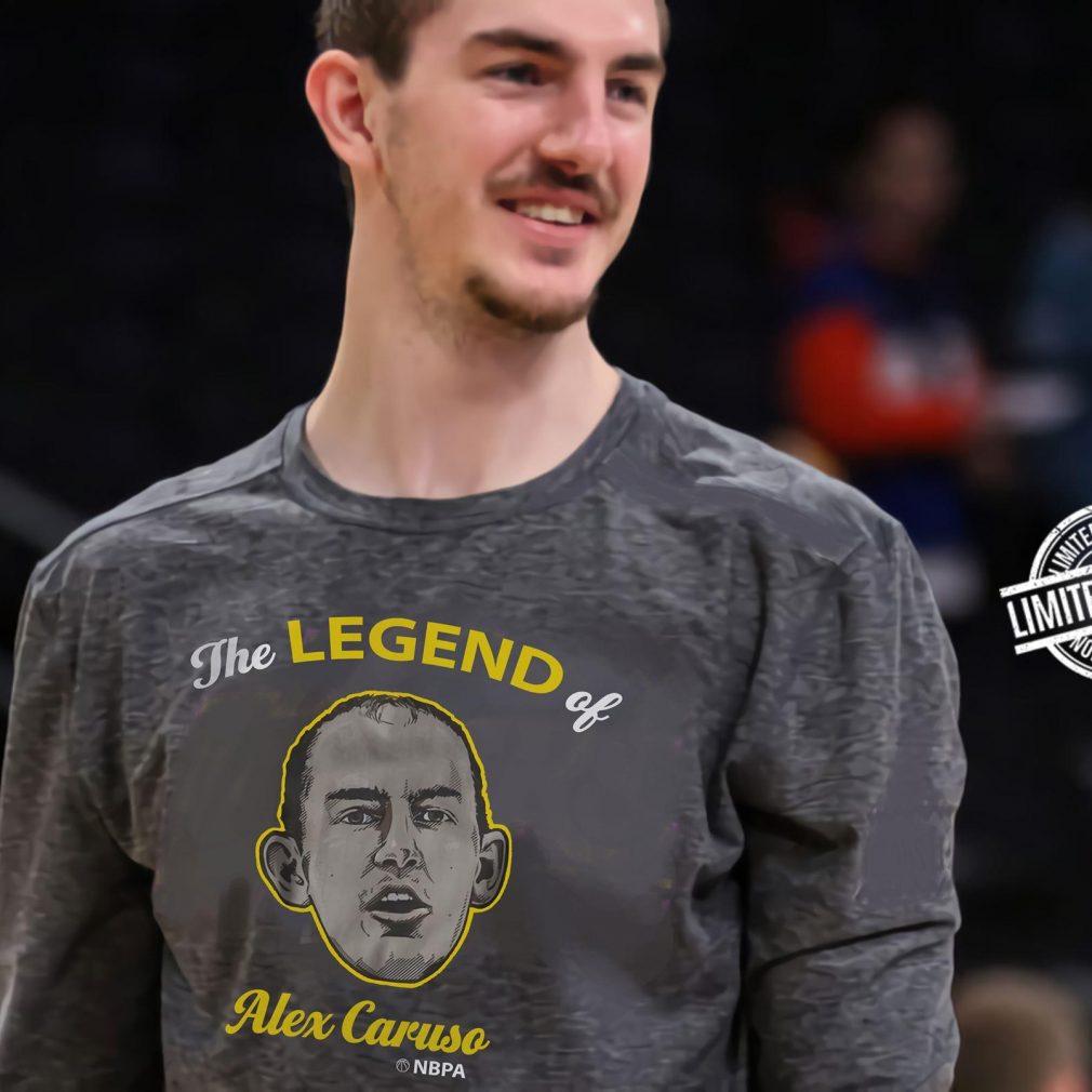 The Legend Of Alex Caruso Shirt