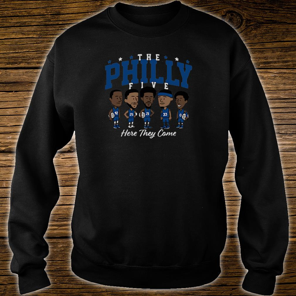 The Philly Five here they come shirt sweater