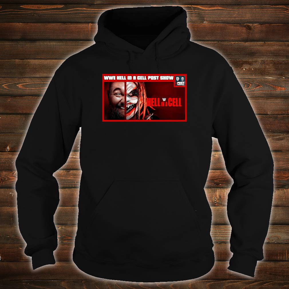 WWE hell in a cell post snow Hell in a Cell shirt hoodie