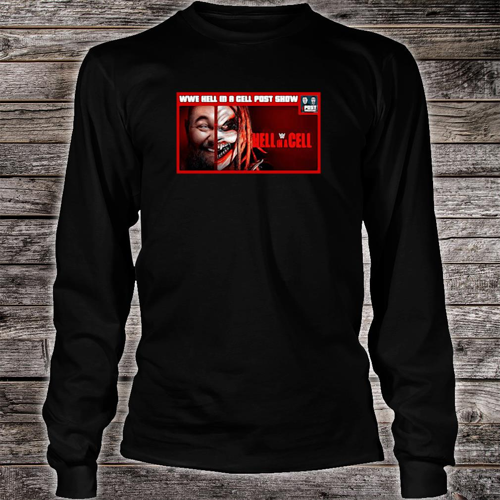 WWE hell in a cell post snow Hell in a Cell shirt Long sleeved