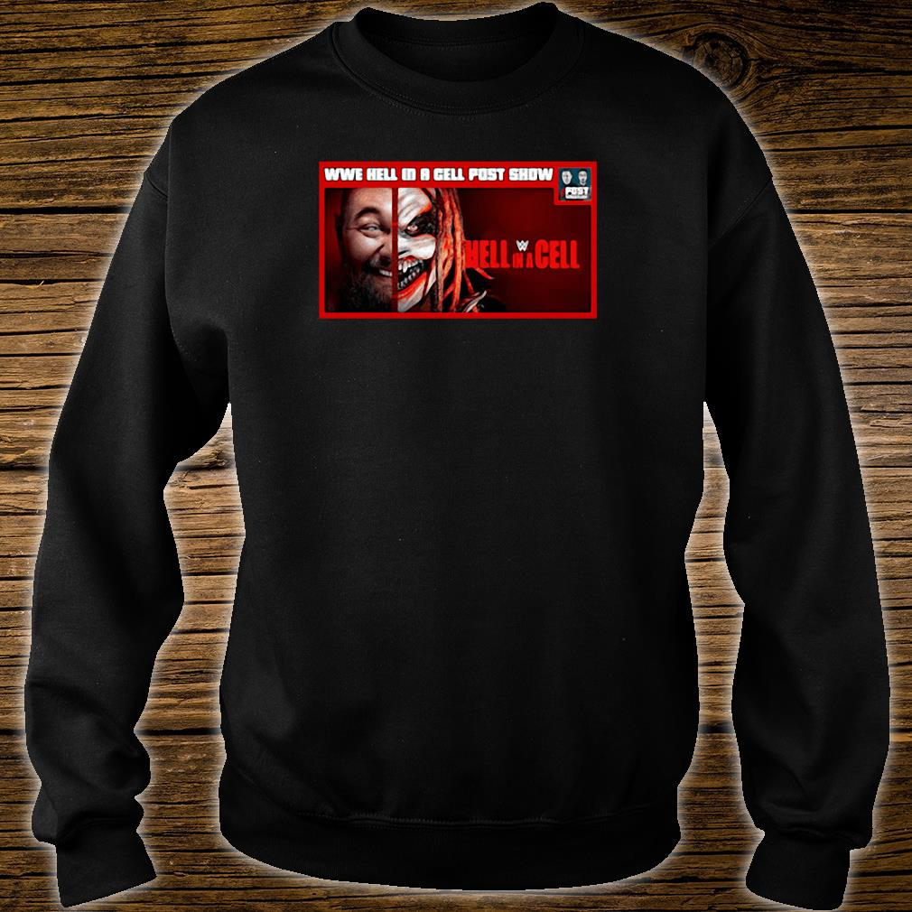 WWE hell in a cell post snow Hell in a Cell shirt sweater