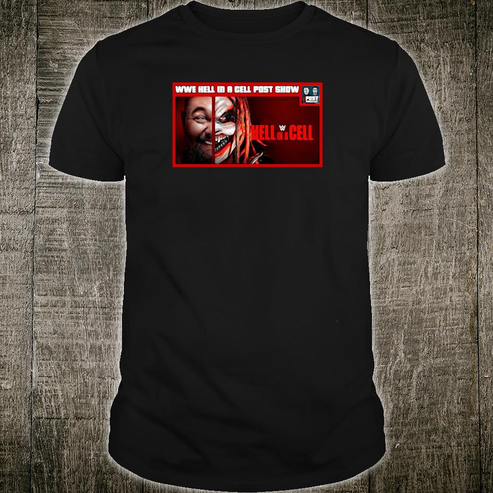 WWE hell in a cell post snow Hell in a Cell shirt